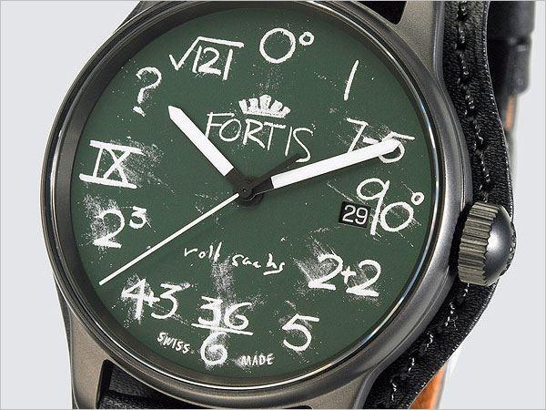 FORTIS 與倫敦概念藝術設計師 Rolf Sachs 合作的 IQ 腕錶。