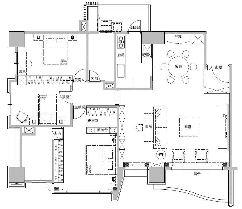 平面圖片提供_蒔築設計