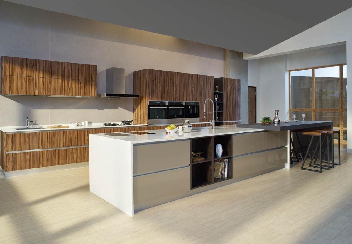 透過新式廚具、廚房家電的高效率及高機能性,無論是廚具、廚房三機,甚至空間設計,廚房變得更時尚有型、簡潔乾淨、也更容易清理。