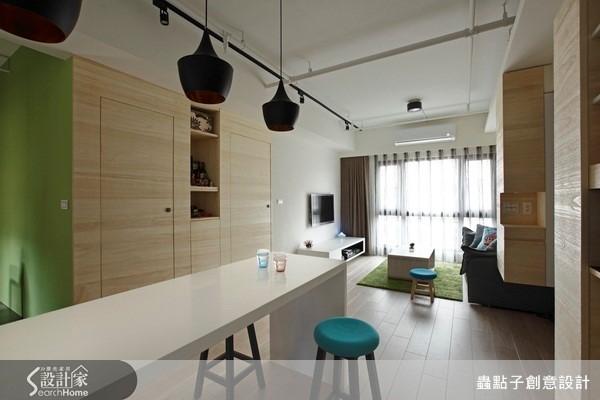 把客廳、餐廳和廚房串成一線,打造無限延伸視野!