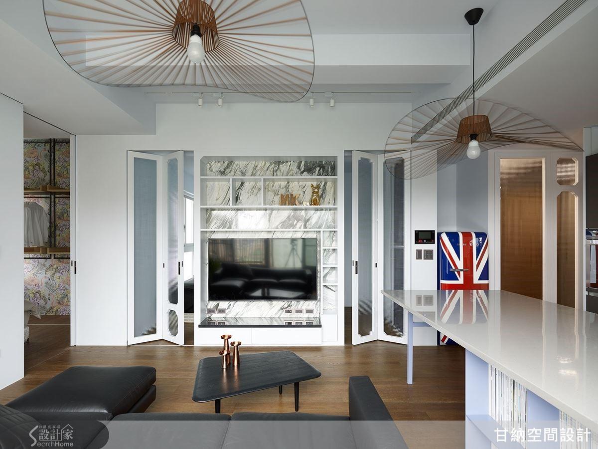 一改空間的敘事手法,重新顛覆小宅的設計可能