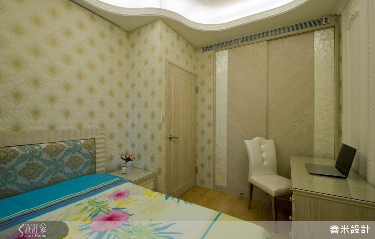 充足的收納設計,在風格之外增添居家舒適度。