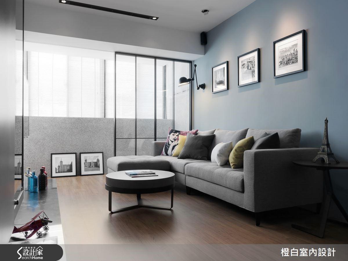 將客廳擺在採光最好的位置,也讓一家人擁有最明亮的歡聚空間!