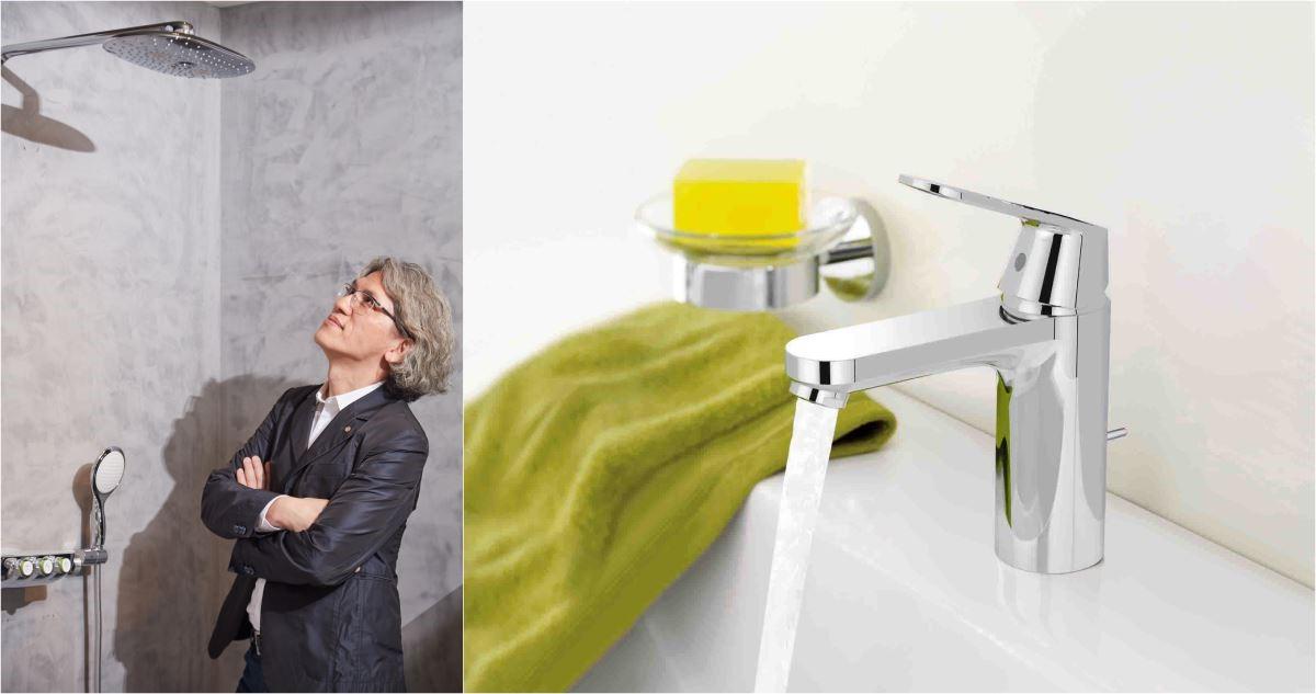 2016 新品 Smart control輕鬆按壓、旋轉即可調整水量和淋浴模式,讓居家生活更smart!