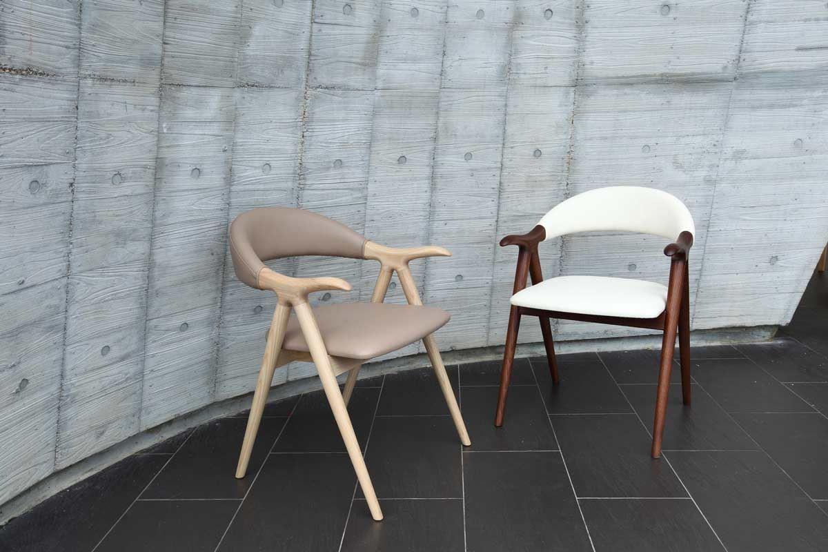 VINCE 餐椅是東西結合的創意,略微擴大的靠背角度增強了舒適度,而超現代的造型放在任何空間都適合。