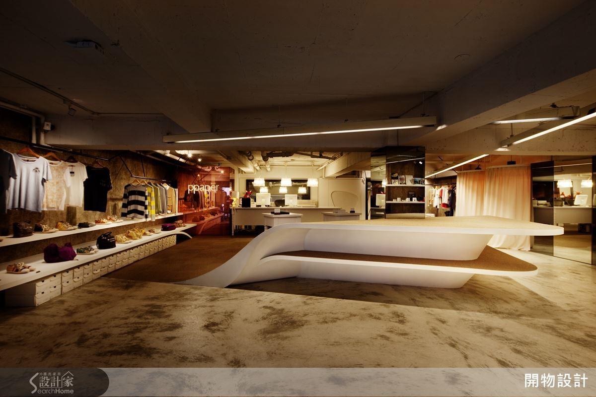 知名的 PPAPER 台北企業總部,在光影對線的交錯之間,顯現時尚人文。