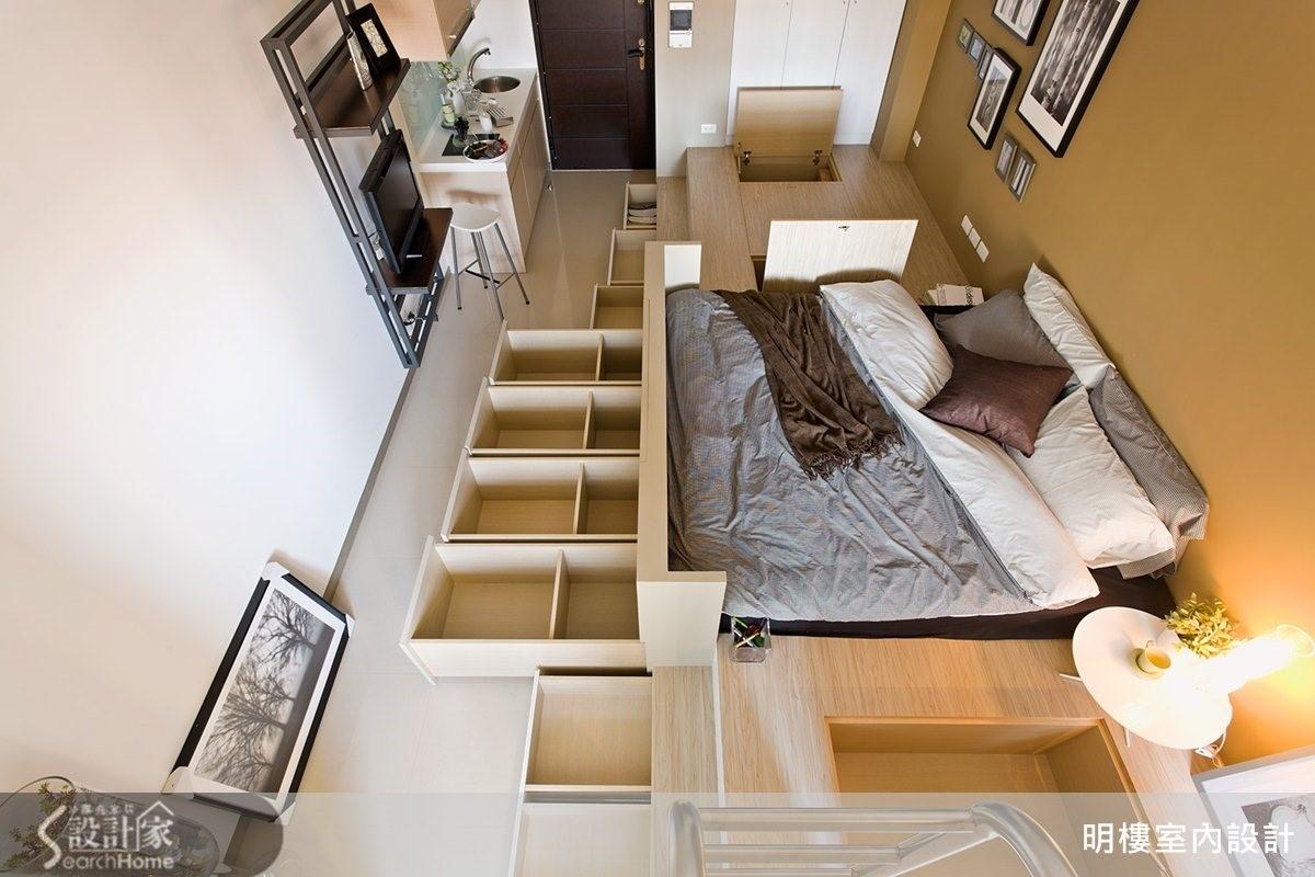 墊高地坪,就能發展出意想不到的收納容量,還有哪些厲害的收納術呢?