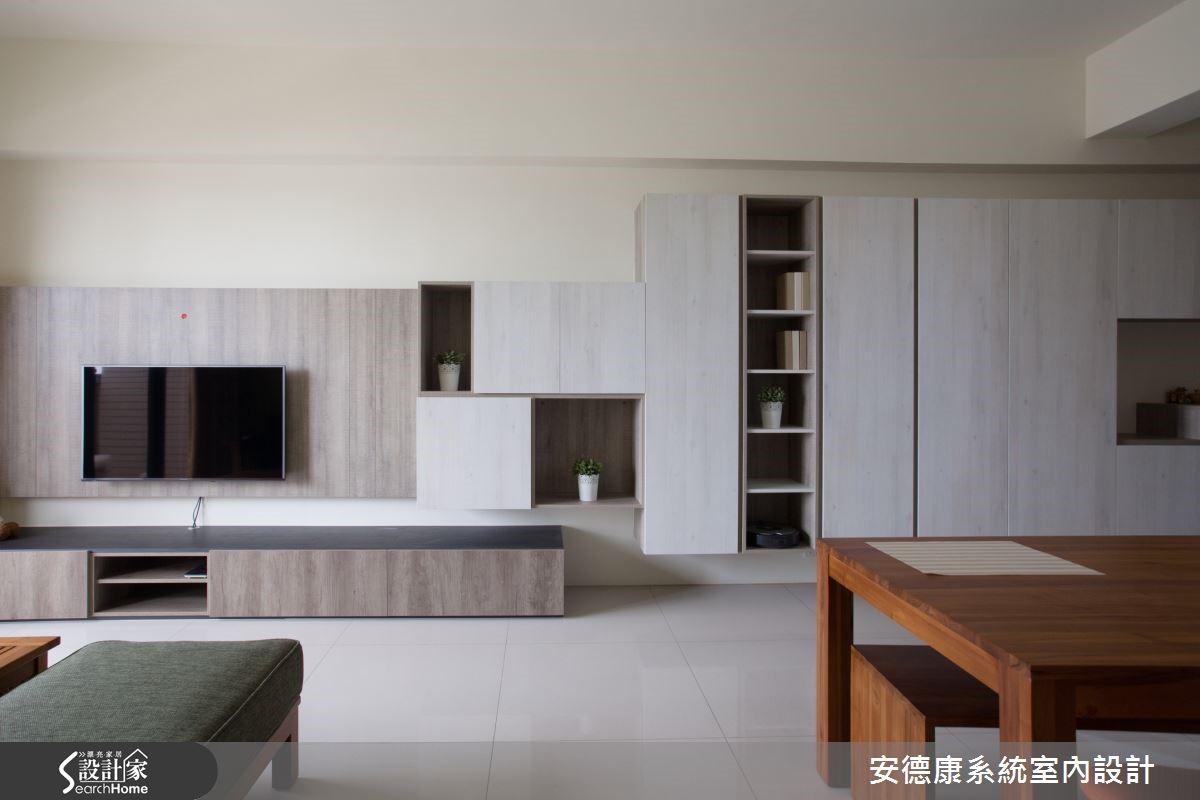 預算有限卻又希望有個簡約美型的居家?善用系統櫃準沒錯!