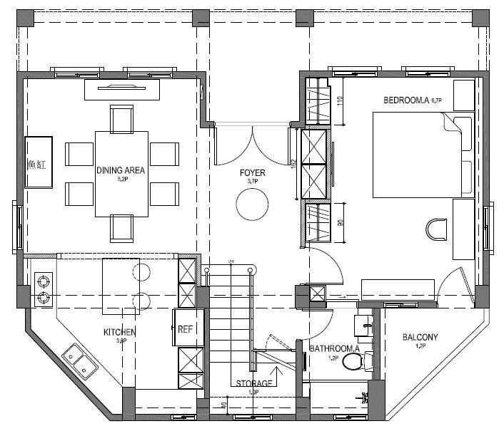 1 樓平面圖提供_尚展空間設計