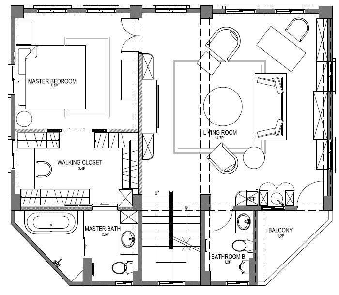 2 樓平面圖提供_尚展空間設計