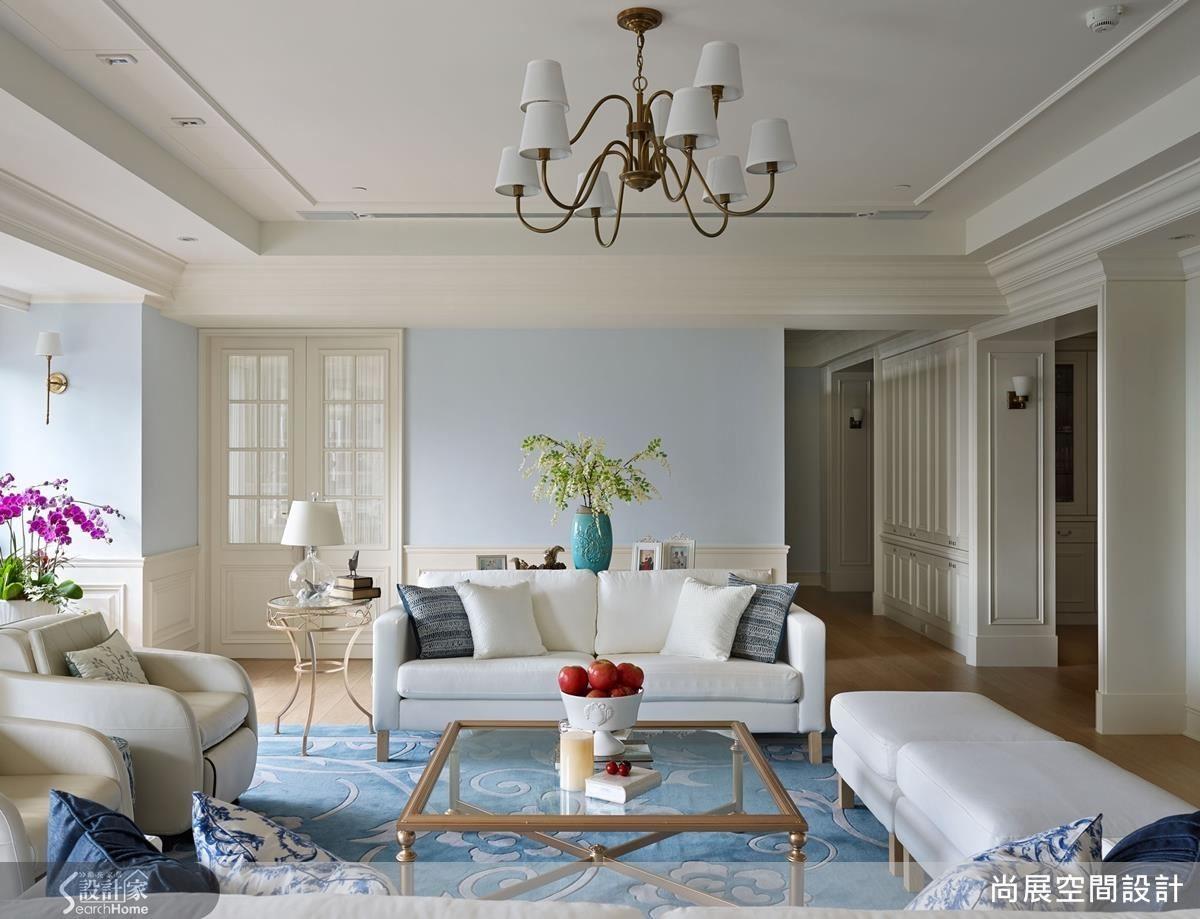 透過色彩、格局等完善安排,和諧呈現心靜自然涼的美好想像。