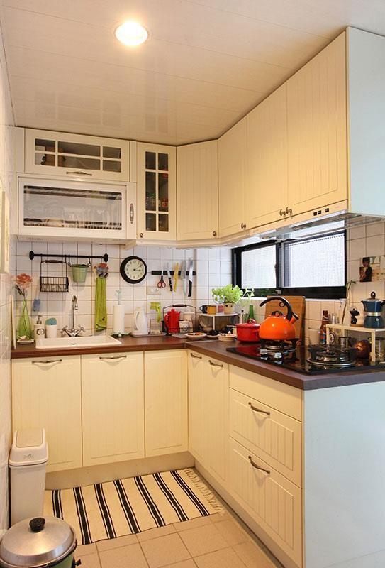 廚房不論是何種形式,都要符合烹調順序的動線設計。  攝影_王正毅