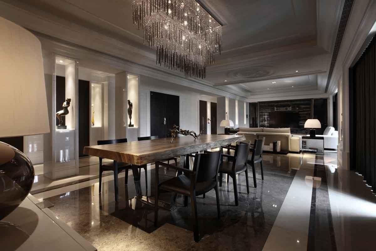 極富藝術感的東方蒙太奇美學,在奢華時尚中帶來居住者獨享的生活休憩氛圍。