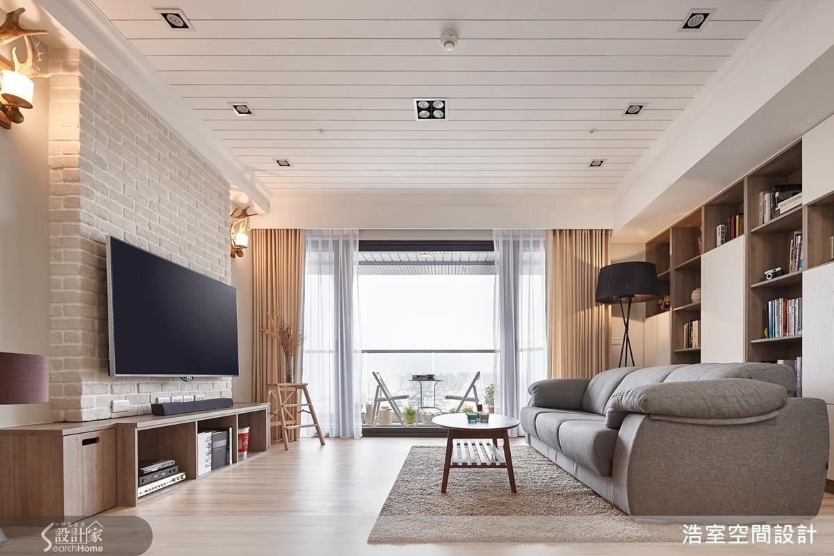 在空間中融合各類風格的舒服元素,營造無負擔的療癒氛圍。