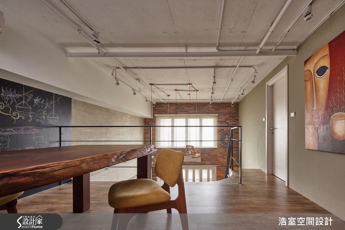 利用各種風格混搭重整,打造具有業主個人色彩的空間。