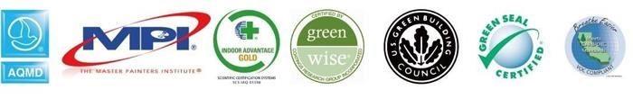 Kelly Moore 開利塗料具備多項美國及歐盟認可的環保、綠建材、智能等國際性的權威認證標章