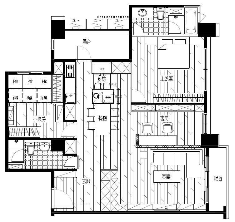 平面圖提供_浩室空間設計