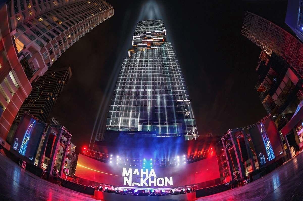 Mahanakhon大廈底層則有高級商場、頂級餐廳及Vogue Lounge,充分濃縮頂級享受於一身。