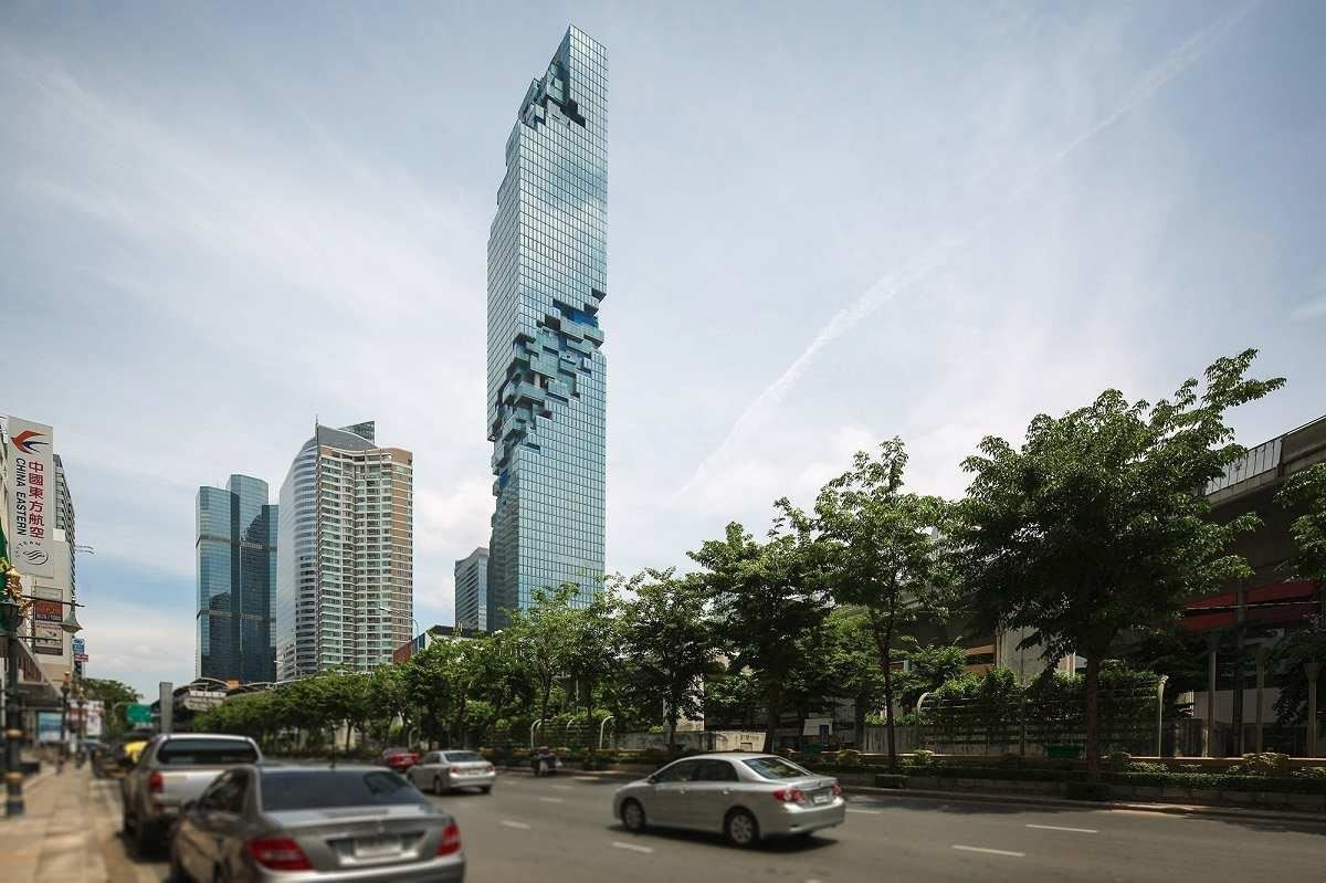 Mahanakhon是國際知名的德國籍建築師Ole Scheeren在泰國曼谷的又一力作。