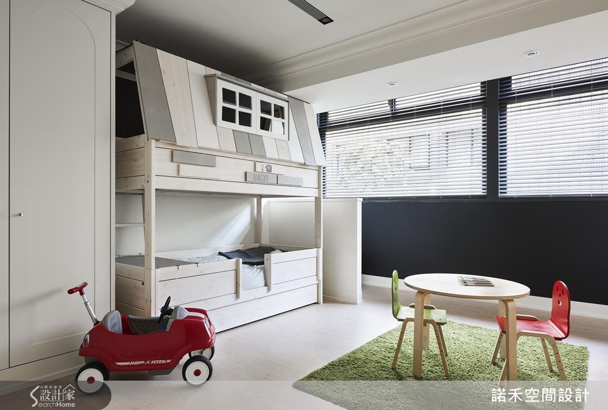 小孩房兼遊戲室。