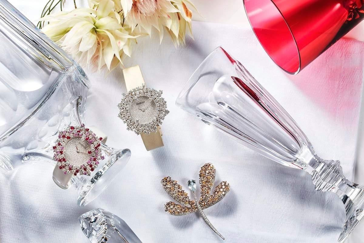 DAMIANI(mimosa花火系列、ANIMALIA華麗動物園系列)及Baccarat水晶