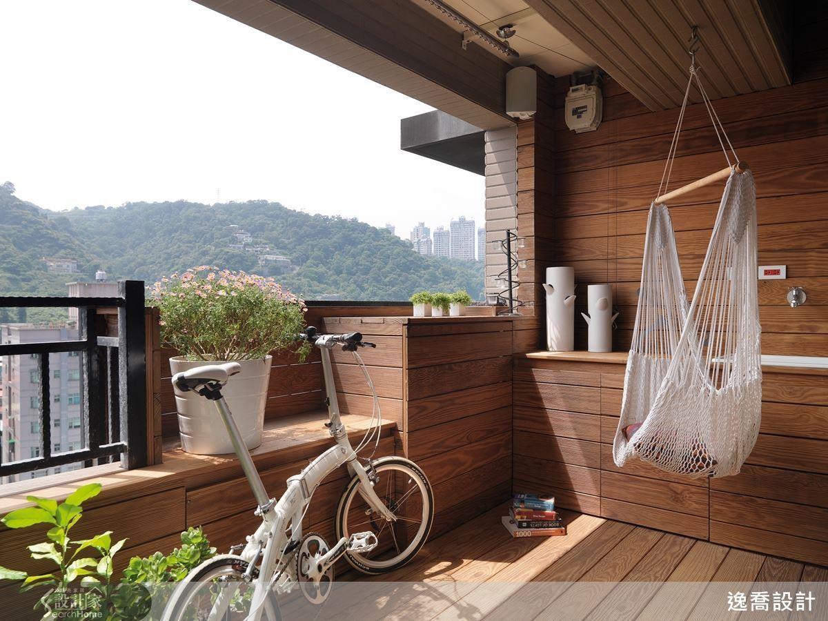 喜愛與大自然親密接觸?立刻打造屬於自己的小陽台,連結居家和外部空間!