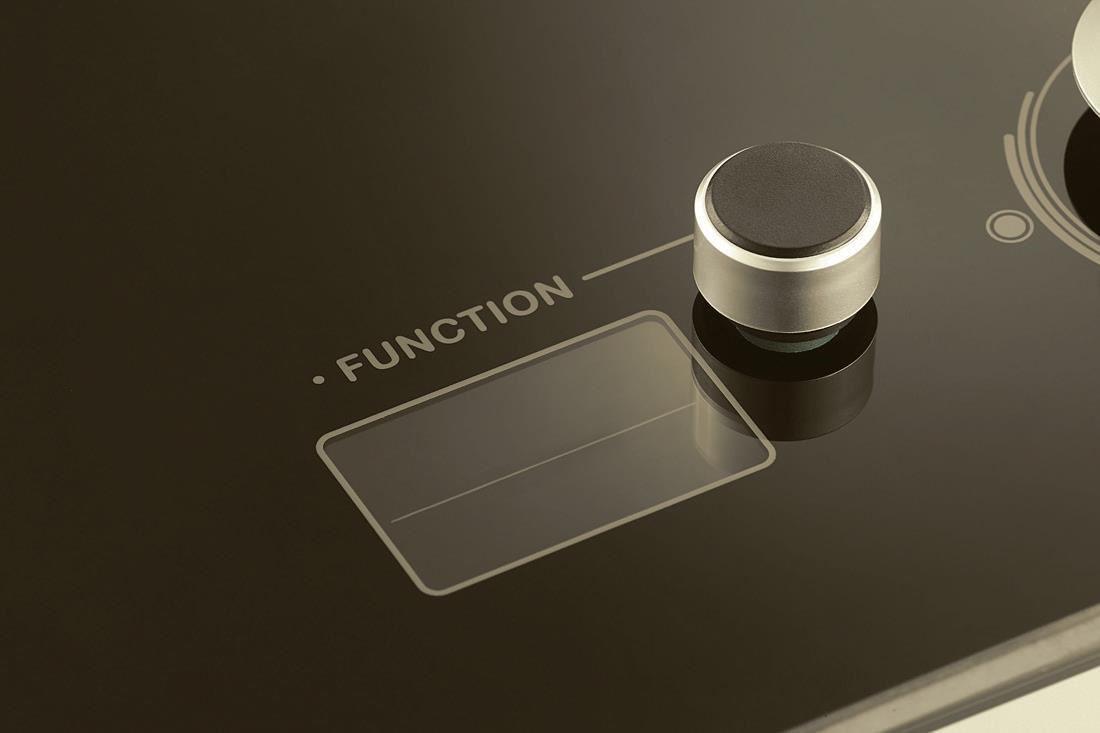 如音響般直覺式的操作設計,簡單優雅好上手