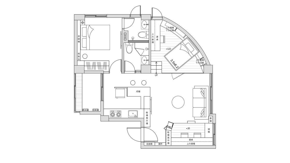 平面圖提供_瓦悅設計