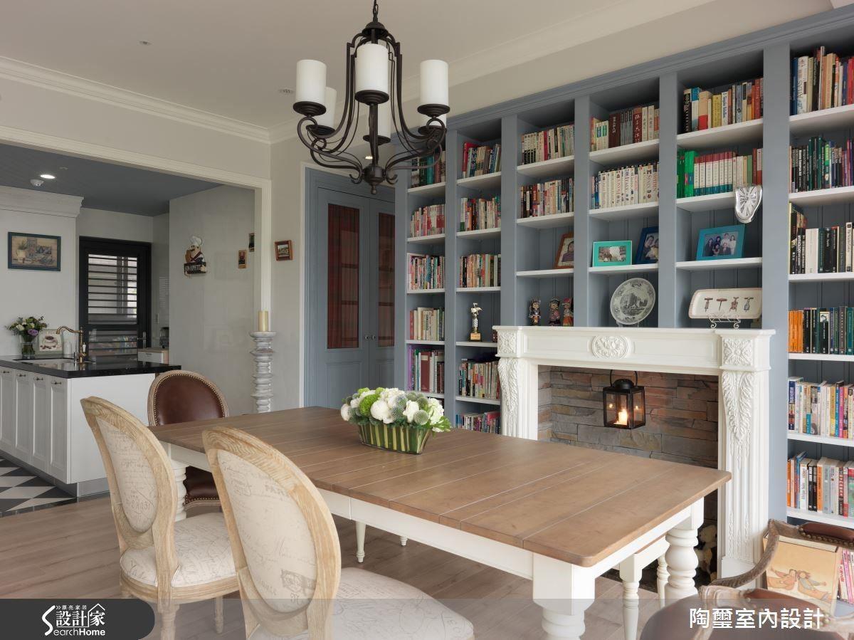 將餐廳與廚房置於同一水平,更抹除拉門設計,完整梳理烹飪動線。