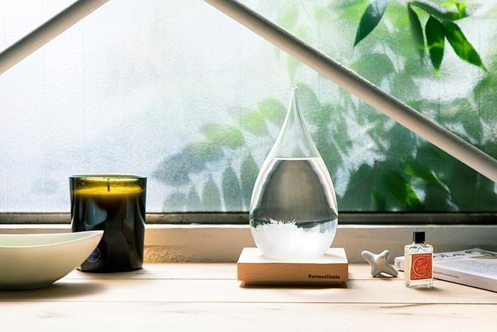 Tempo Drop 天氣瓶-一般(附底座)$2,145。
