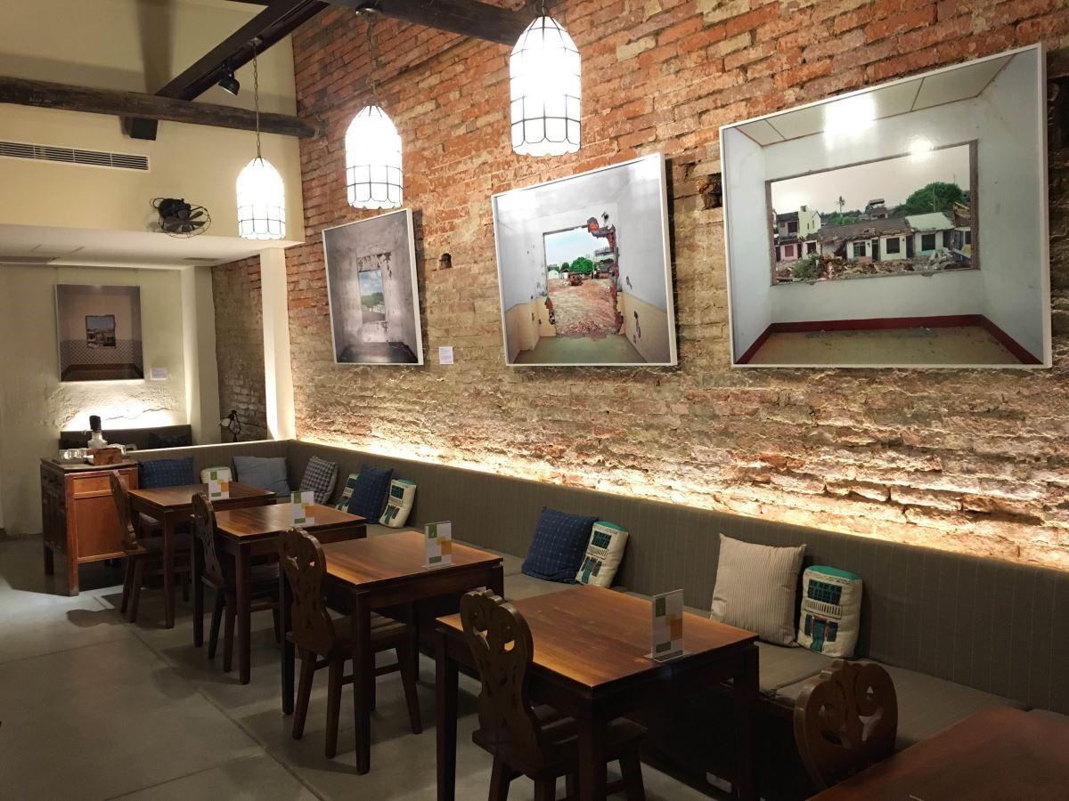 藝術銀行 x 正興咖啡館 x 陳伯義(照片提供-正興咖啡店)。