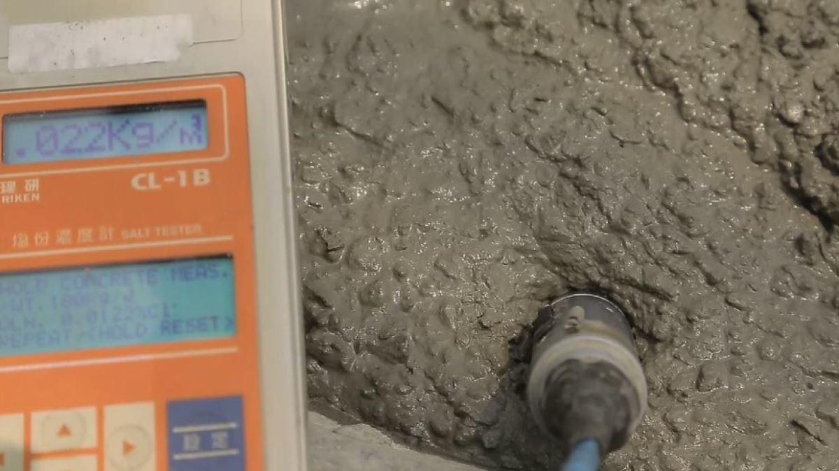 做好氯離子檢測,防止海砂屋發生。