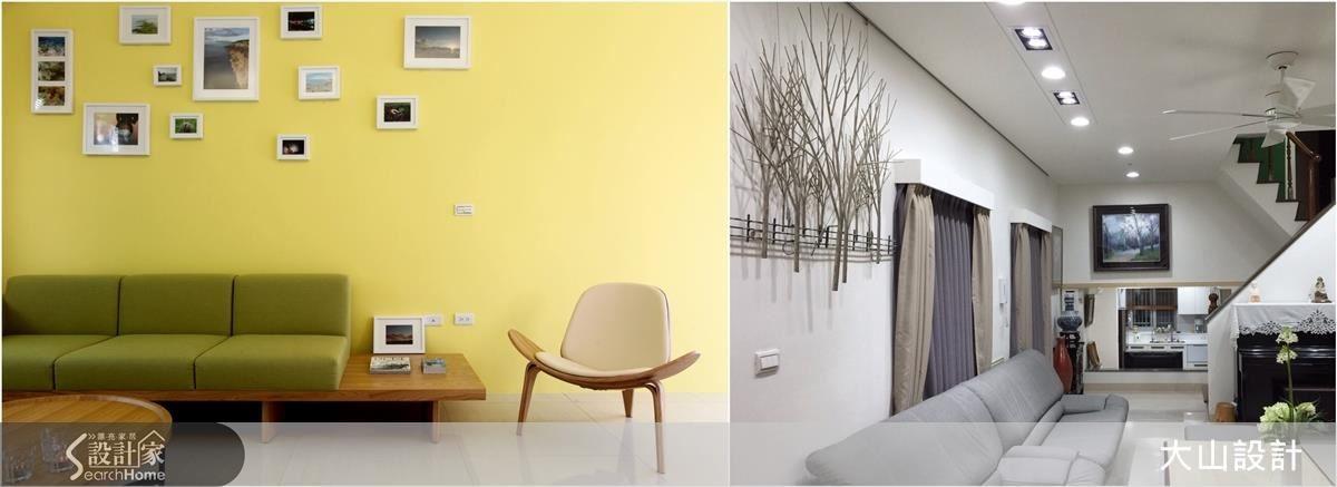 藝術品與空間結合,減省過於繁複的室內裝修,讓空間與人的關係更為緊密。