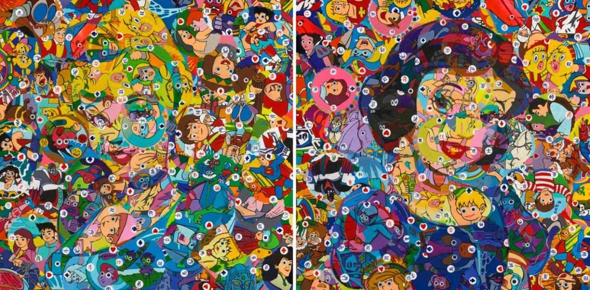 藝術家林慶芳作品【台風之戀尪仔標-公主病的白雪與仙杜瑞拉】
