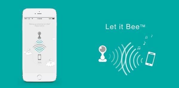 Beseye 用讓手機「唱歌」來配對,解決長久以來同類產品最讓人困擾的設定配對問題。