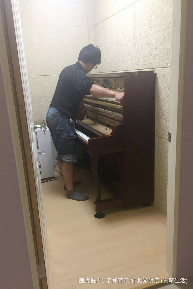像琴房這類很重視聲音表現的空間,美絲板的吸音特性,能明顯地降低迴音、噪音的干擾。