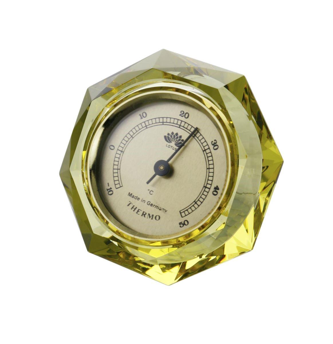 LOTUS 水晶 - 吉星高照 (溫度計) 原價 $5,300 特價 $530 (絕版品賣完為止)