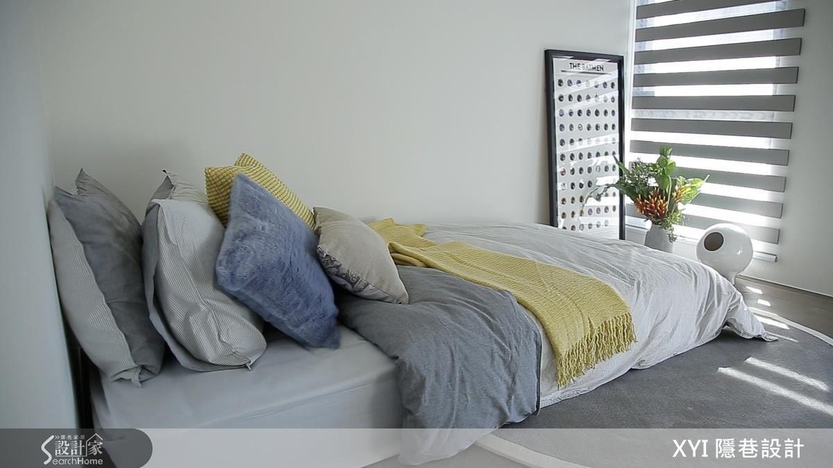 舒適的居家環境,適度的軟件、擺設有大幅加分的效果。