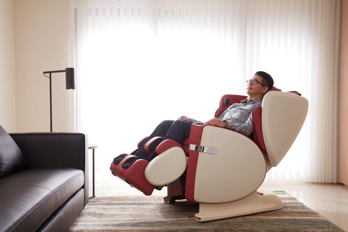 預先將按摩椅位置納入設計考量,打破以往按摩椅佔空間的刻板印象。