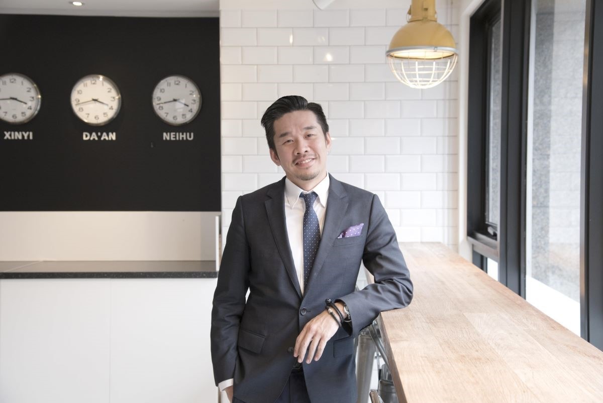 紅點文旅創辦人兼設計師的 吳宗穎Steven。