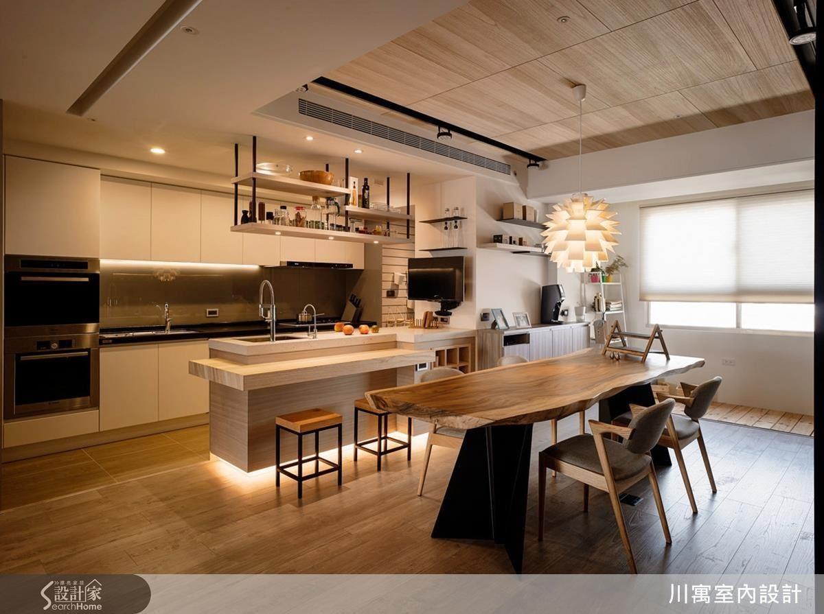選購立燈或是以間接照明、吊燈營造溫馨的氣息都是很棒的方法!
