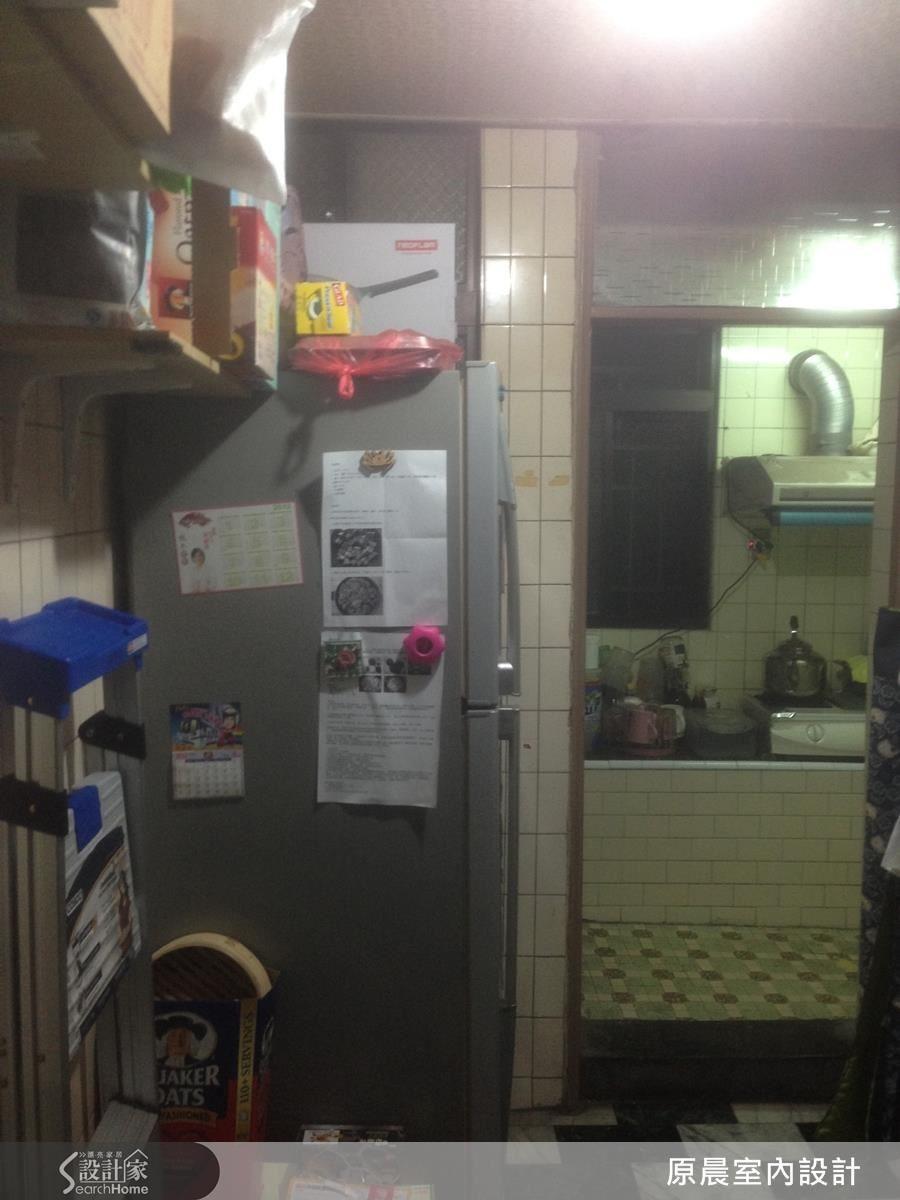 原本房子因格局缺陷,廚房和餐廳不連貫,往返耗時。