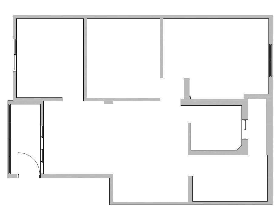 BEFORE 平面圖提供_蒔築設計。