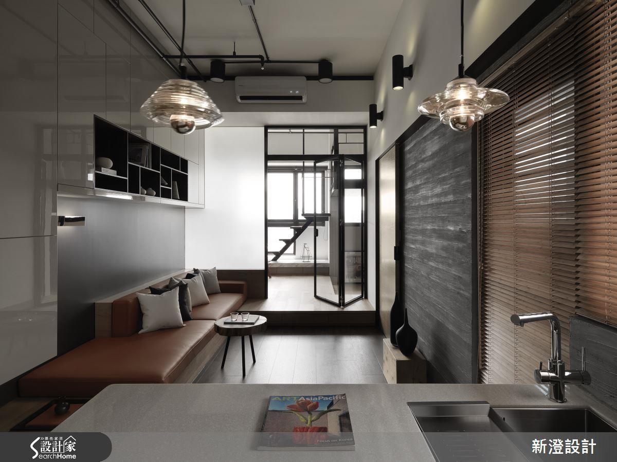 善用採光、複合設計、開放空間與俐落的線條鋪排,即可讓夾層空間寬敞又明亮!