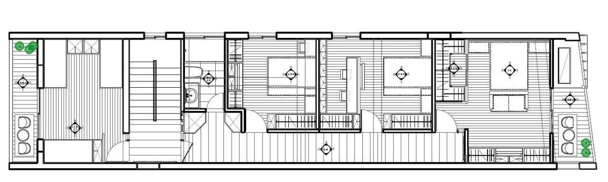 平面設計 2F_震騰室內裝修設計。