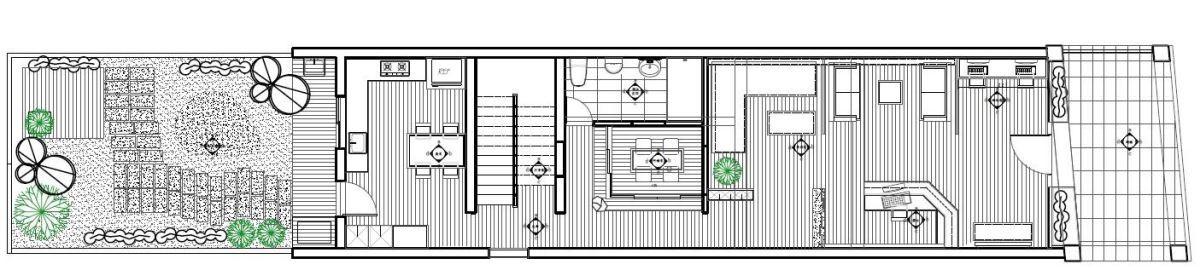 平面設計 1F_震騰室內裝修設計。