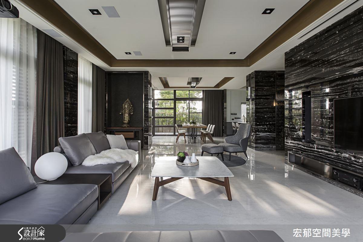 三代的度假屋該是什麼樣子?宏郁設計掌握了材質比例與光景共容,創造出高貴不奢華、輕鬆不放縱的休閒度假屋。