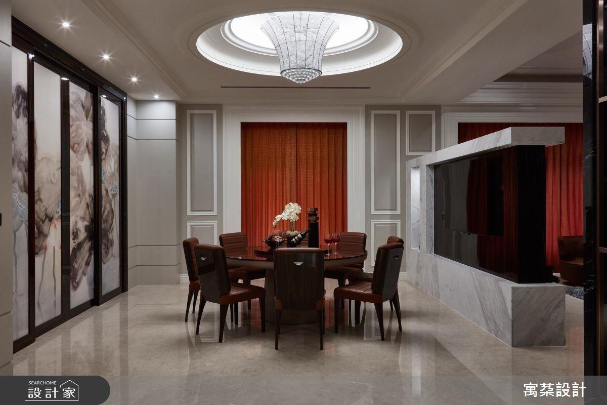 一樓主要是迎賓的門面,會以比較奢華精品的方式呈現。
