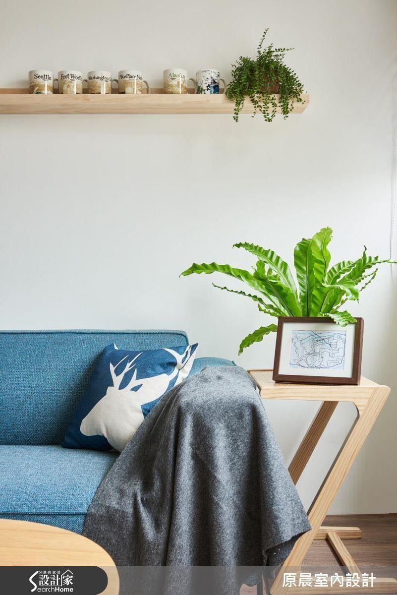 北歐人時常以大量蕨類、多肉植物等綠栽妝點居家空間,除了提升空氣品質,更成為自然端景。