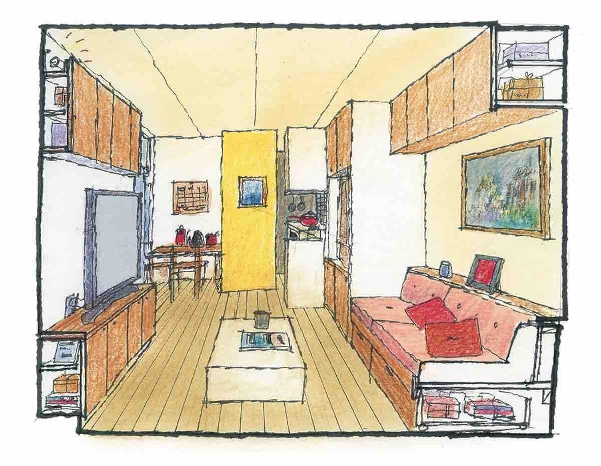 起居室-透視圖 圖片提供_漂亮家居麥浩斯